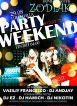 party weekend @ NC ZODIAK