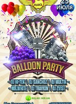 «Balloon party» @ Клуб