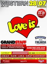 ★ GRAND STAFF | LOVE IS... @ Western